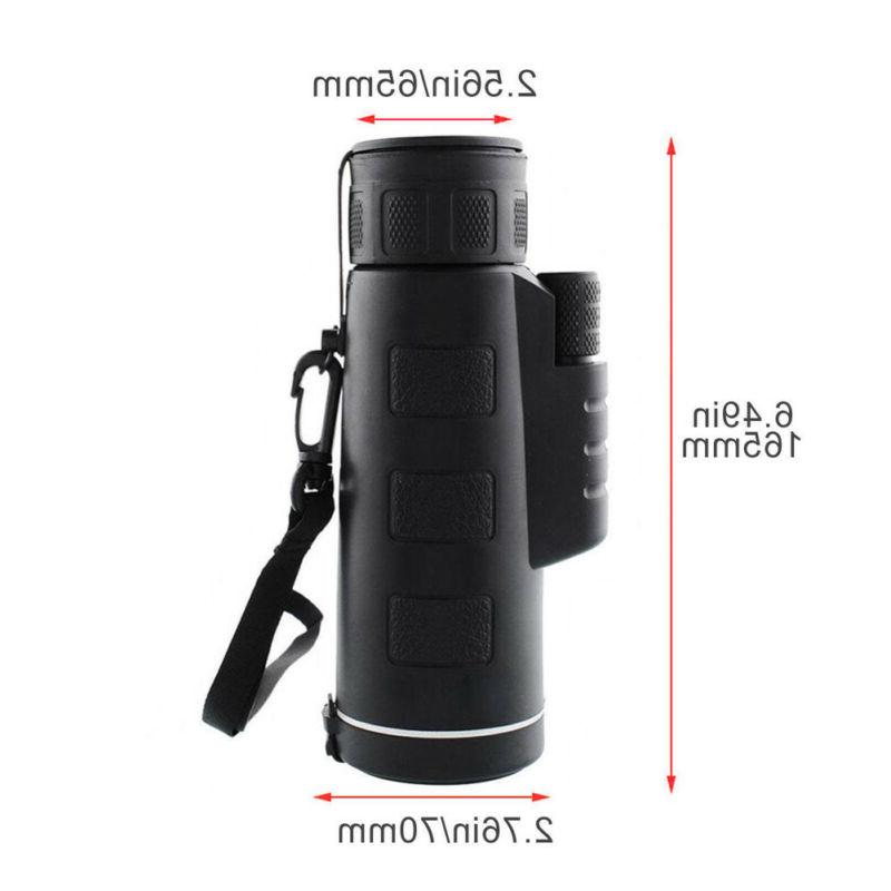 Outdoor Vision 40X60 HD Optical Telescope +Tripod