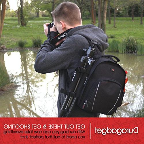 Premium Quality, Water-Resistant Rucksack with & for Night Monocular by