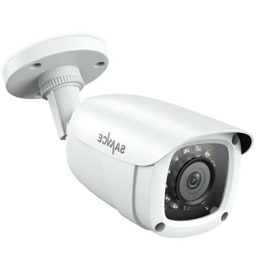 SANNCE 720P Wired Weatherproof HD Bullet Night Vision CCTV V