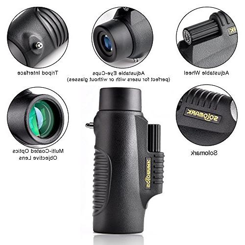 SOLOMARK Monocular - Scope Games, Exhibition, Car Racing, watching and