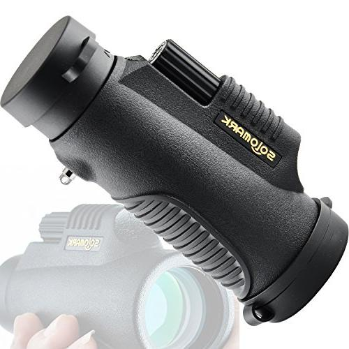 SOLOMARK Monocular - Grip Scope - For Games, Exhibition, Shows, Car watching Wildlife and Scenery