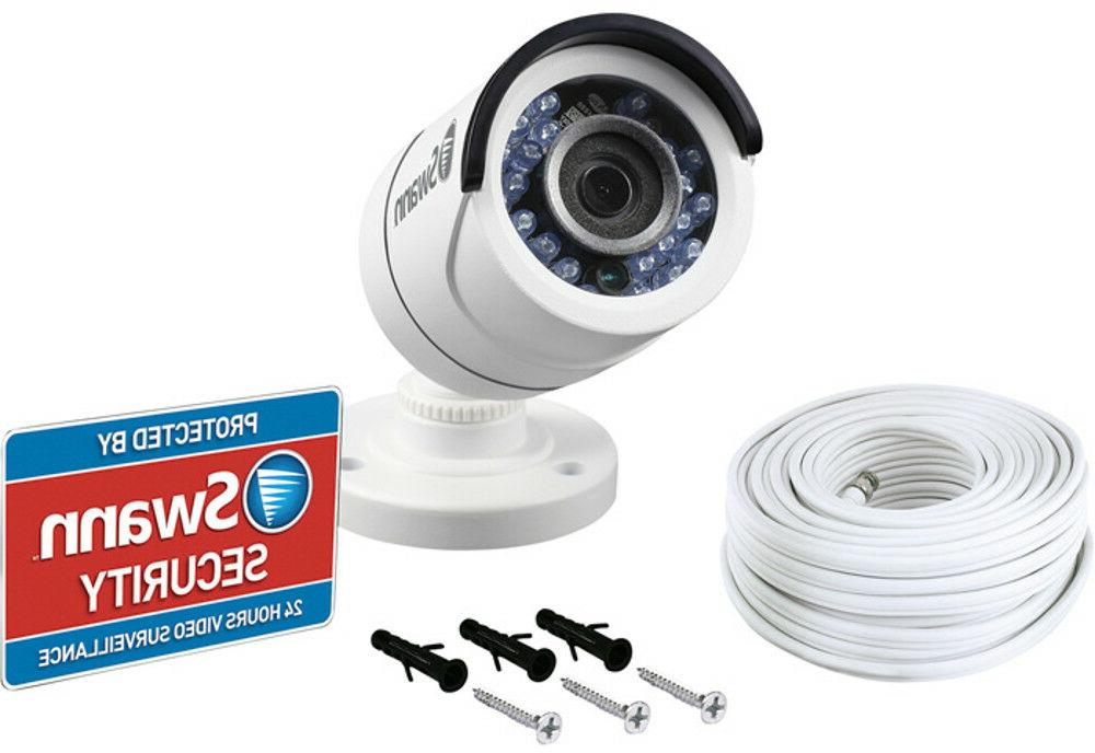 SWANN  Security Bullet Camera, Wired w/ 1080p HD Night Visio