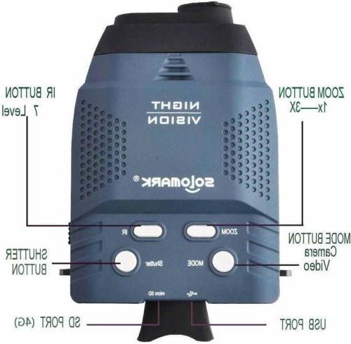 Solomark Night Blue-infrared Illuminator