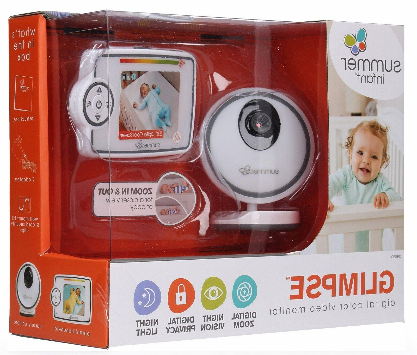 Summer Infant Glimpse Digital Color Video Monitor & Night Vi