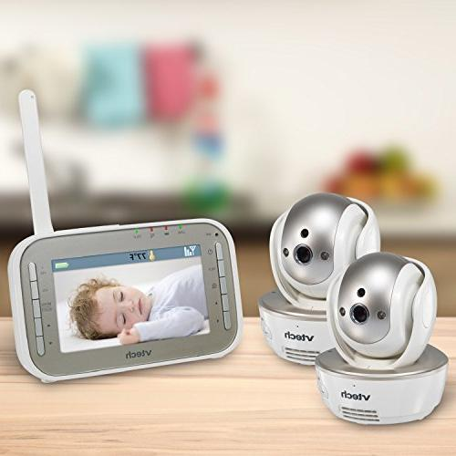VTech VM343 Video Baby Monitor Pan//Tilt//Zoom Automatic Night Vision 2-way Audio