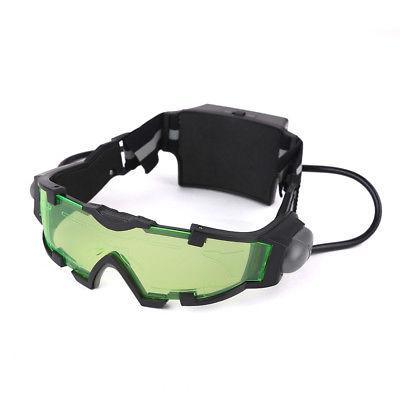 Adjustable Goggles Glasses w/Flip Out Lights