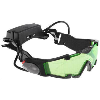 Adjustable LED Goggles Glasses Lights Eye