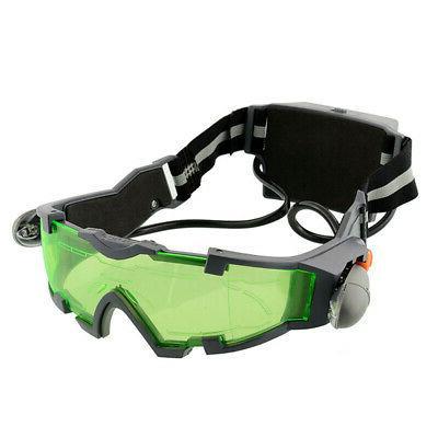 Adjustable Vision Goggles Lights Eye