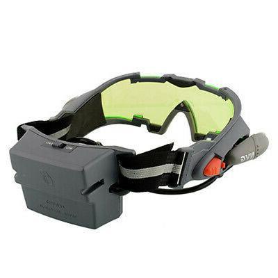 Adjustable LED Night Goggles Glasses Lights Lens