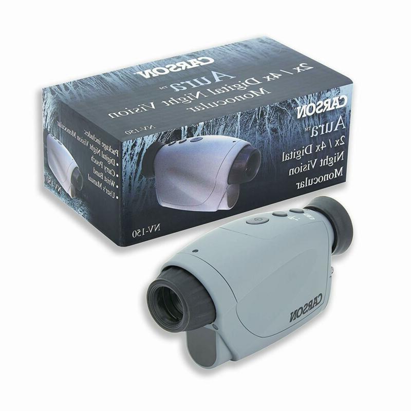 Carson Aura Digital Vision Monocular With Illuminator
