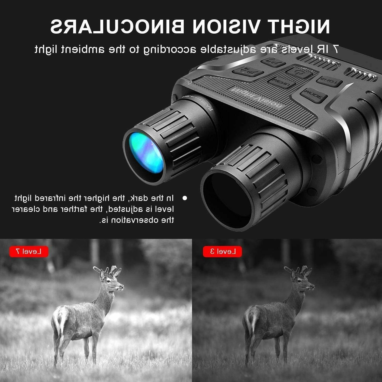 Rexing Vision Binoculars Screen, Recording