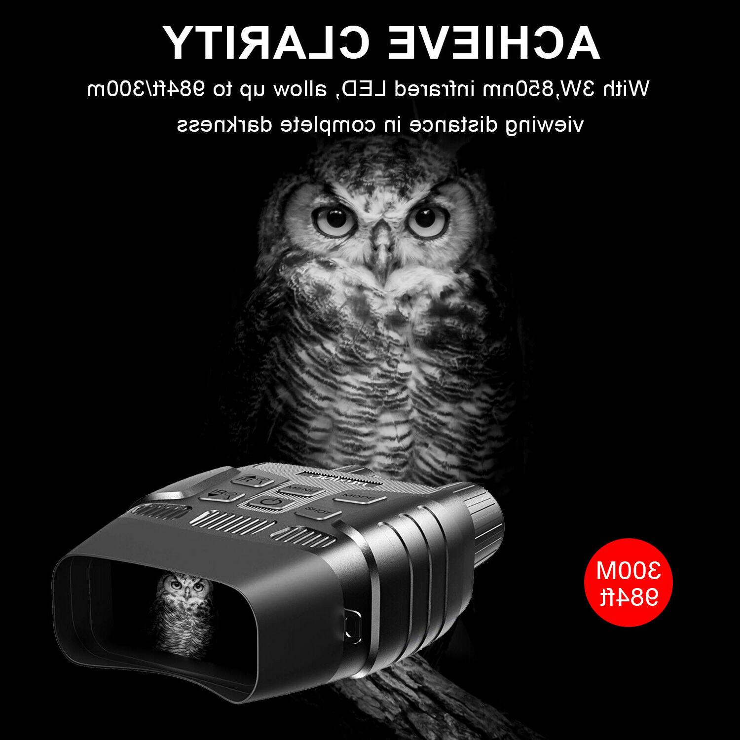 Rexing Infrared Night Vision with Screen, Video