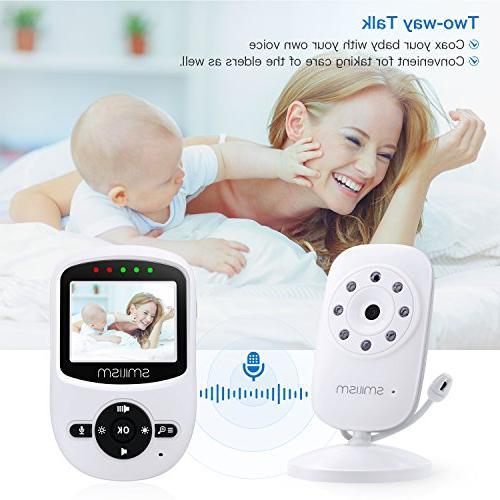 Video Camera Vision, Talk Temperature ECO Mode, Screen, Range