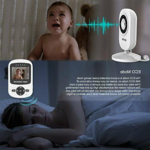 Video Baby Monitor 2-Way Wireless Night BT
