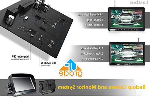 LASTBUS View Vision Camera 7'' for Truck, Trailer, Camper, RV,