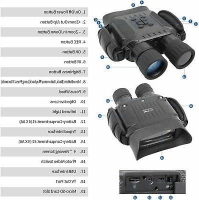 Bestguarder Night Vision Binoculars, 4.5-22.5×40 Hunting