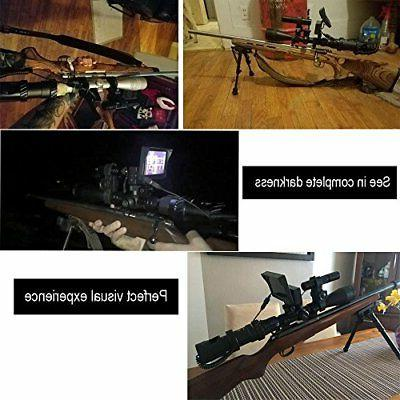 bestsight DIY Rifle Vision Scope with and Flashlight for