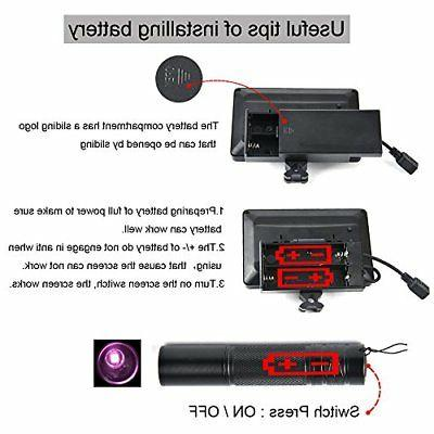 bestsight DIY Rifle Vision Scope and Flashlight for