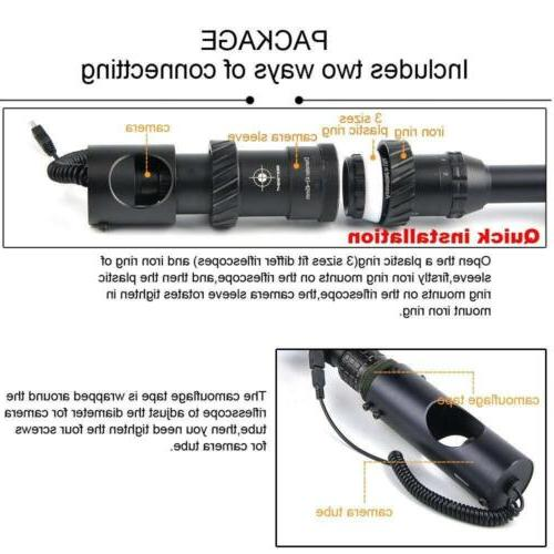 bestsight Digital Vision Scope for Rifle Hunting with