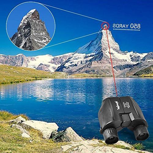 Binoculars for - Lightweight Zoom Binocular for Kids Women Men Hunting,Travel,Birding, Concert,Waterproof Light Night Vision