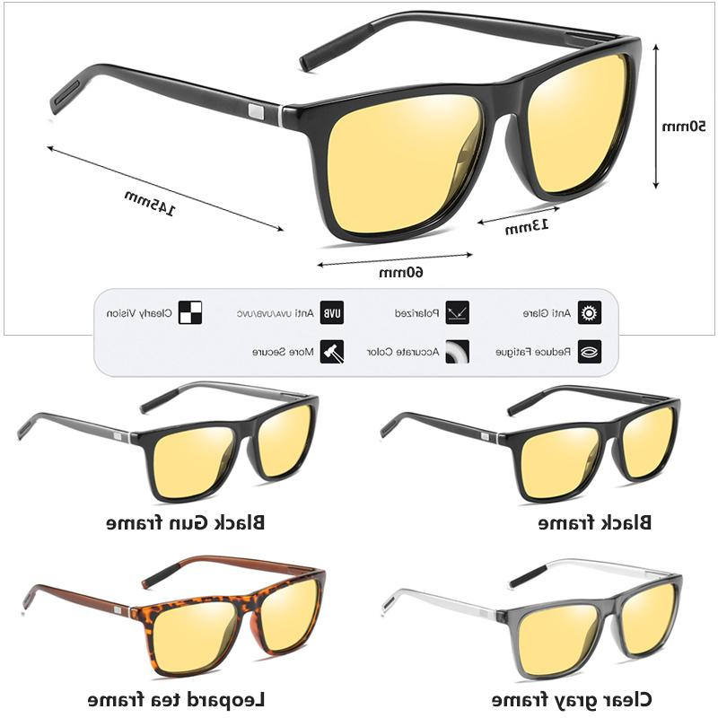 Brand Square Polarized HD <font><b>Vision</b></font> Women Safety Glasses Discoloration sol