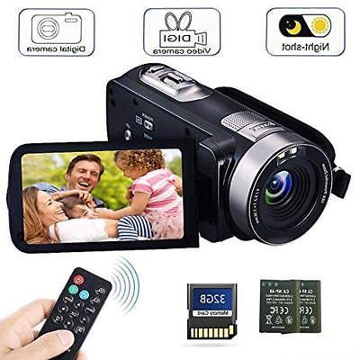 Camcorder Digital Camera with IR Night Vision HD Digital Vid