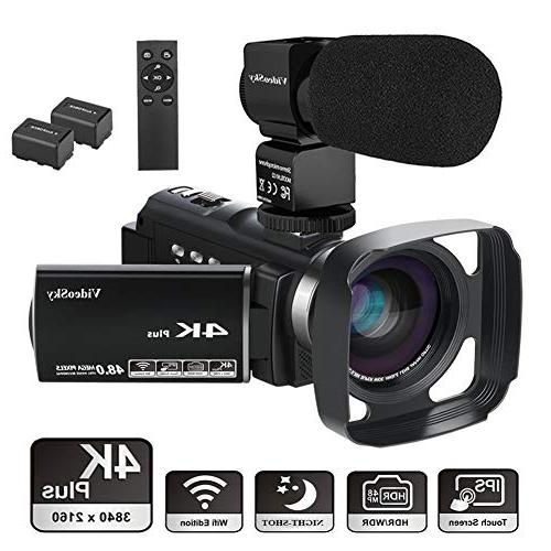 camcorder ultra youtube vlogging touch