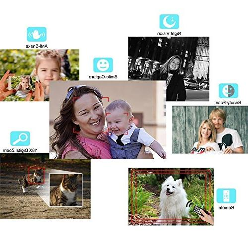 Digital with Night HD 24.0Mega Pixels 18X Zoom