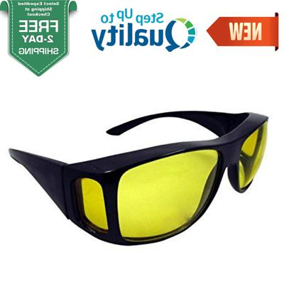 clear sight night vision glasses driving wraparound