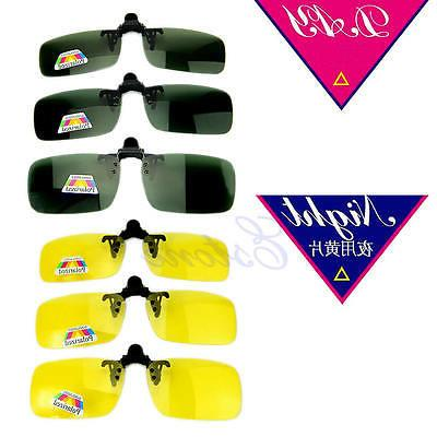 Clip-on Polarized Day Glasses Sunglasses