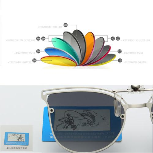 Polarized Night Vision Cat Eye Sunglasses Lens Glasses