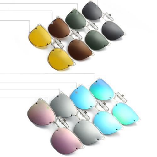 Polarized Night Eye Clip-on Sunglasses Lens Driving