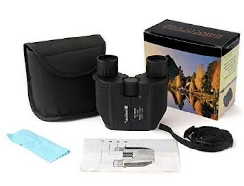 Compact High Powered Waterproof Portable Binoculars