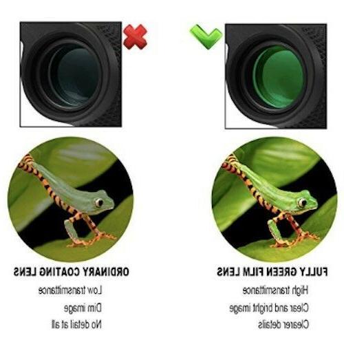 Compact Binoculars, High Powered Waterproof Portable Binoculars