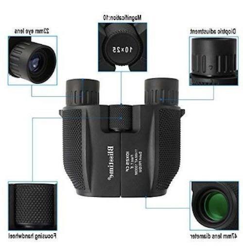 Compact Binoculars, High Waterproof Binoculars