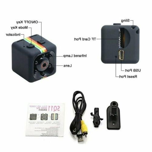 COP CAM Camera HD 720P 32GB Card Recorder
