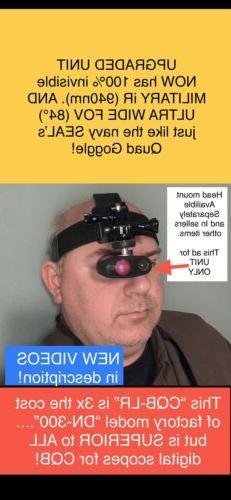 CQB Night Vision Scope: RARE/UNIQUE For CQB. 84° FOV 940nm