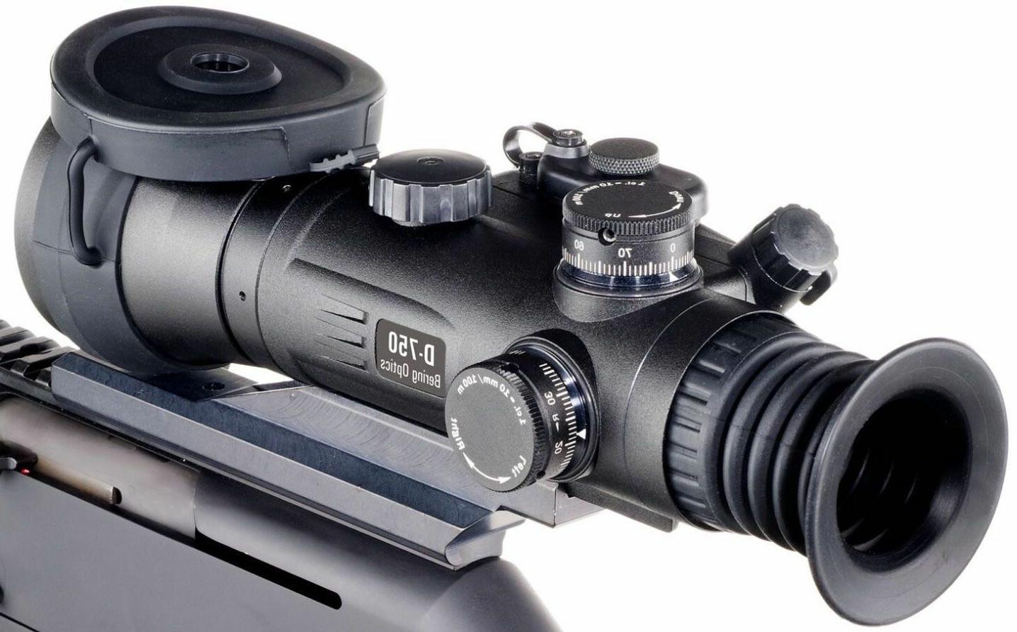 Bering Optics D-750UW 4.0x66 Gen 3+ L3 Elite B&W Tube Night