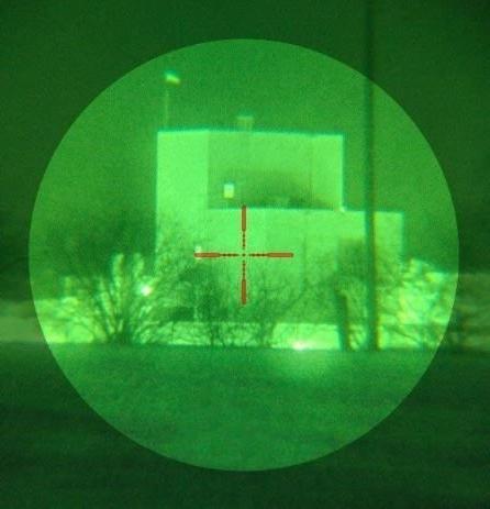 Bering D-790UW B&W Gen 3+ Night Vision Sight,