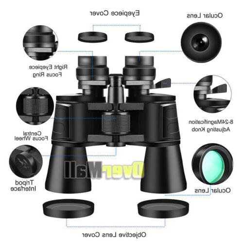 Day/Night 180x100 Military Zoom Powerful Camping+Case