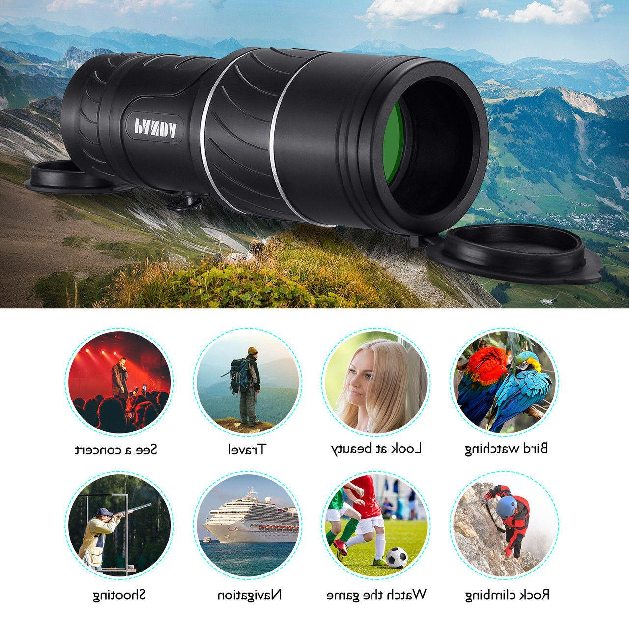 Day Night 40X60 Hunting Powerful Hiking Camping Telescope