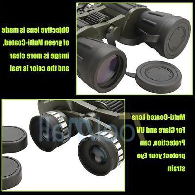 Day/Night 60x50 Army Zoom Binoculars Optics Hunting
