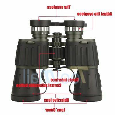 Day/Night 60x50 Zoom Powerful Binoculars Hunting Camping