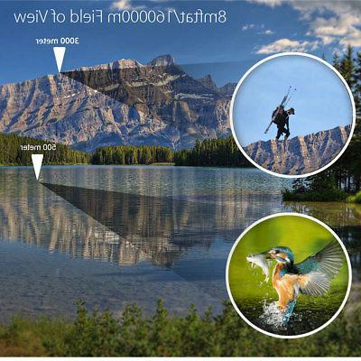 60X60 Zoom HD Binoculars Travel Telescope+Case