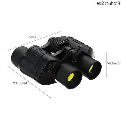 60X60 Day/Night Vision HD Binoculars Outdoor Travel