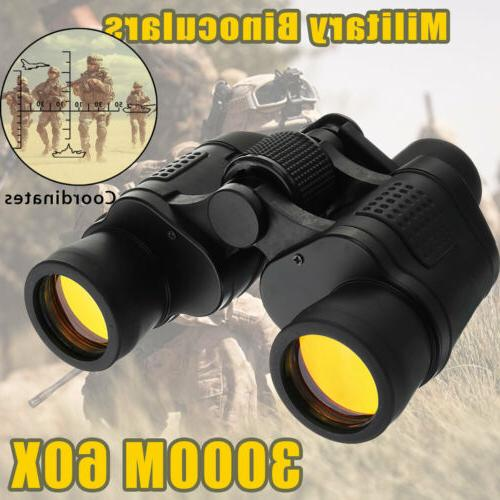 Day/Night 60x60 Military Army Zoom Binoculars