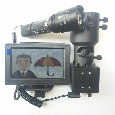 Night Vision Scope for Rifle Scope Add On DIY Device with Di