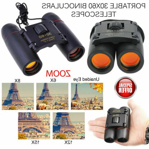 Day Vision x Zoom Travel Optics Hunting Camping Binoculars Telescope