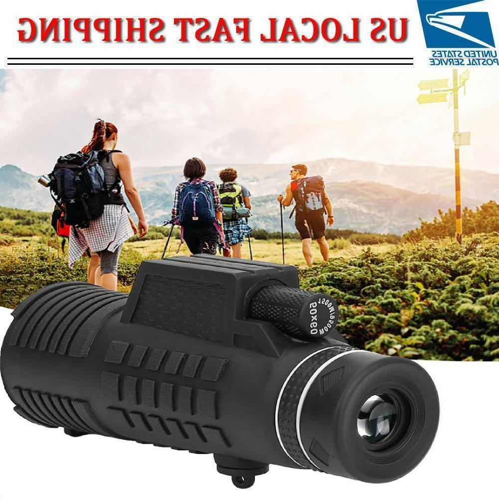 day night vision 50x60 hd optical monocular