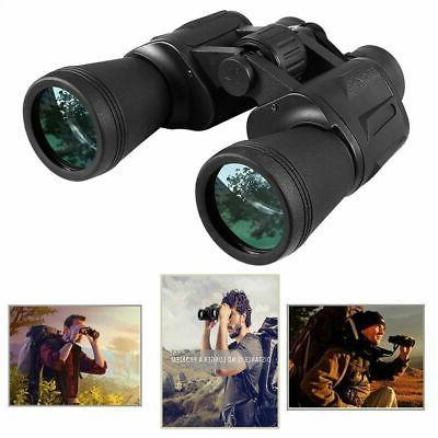 Day Vision Binoculars 10 50 Outdoor Waterproof Bag